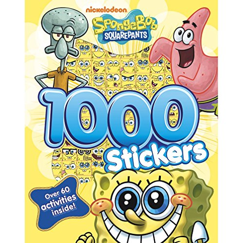 9781472318053: Nickelodeon SpongeBob SquarePants 1000 Stickers: Over 60 Activities Inside!