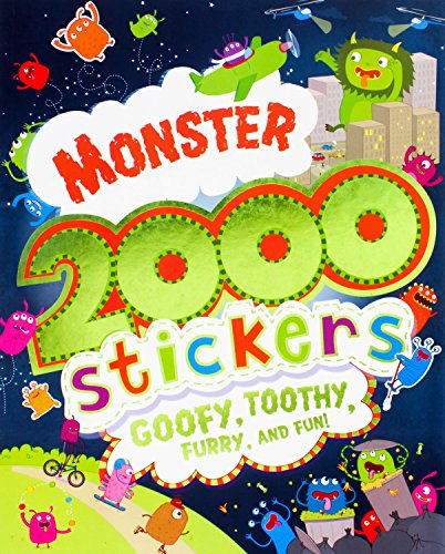 9781472319548: Monster 2000 Stickers
