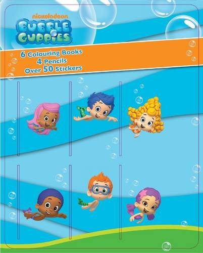 Bubble Guppies Mini Colouring Book & Pencil Set: Nickelodeon