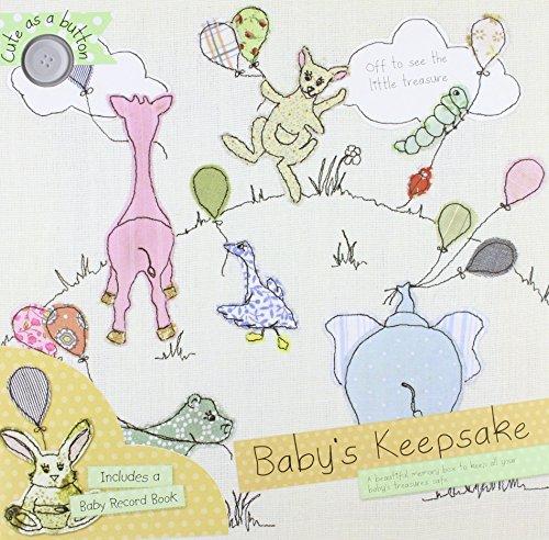 9781472323033: Cute as a Button : Baby Keepsake Box