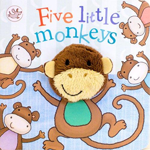 9781472323682: Five Little Monkeys Finger Puppet Book (Little Learners)