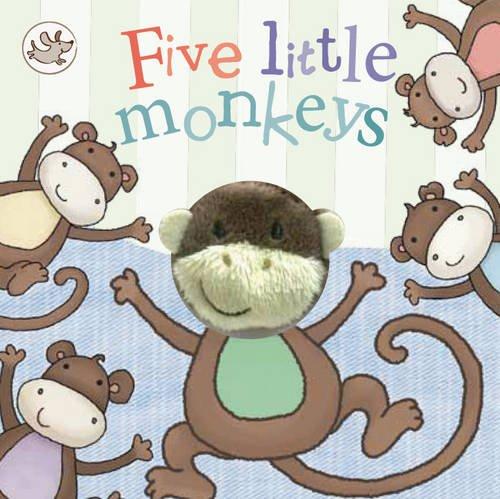 9781472323729: Five Little Monkeys (Little Me Finger Puppet Book)