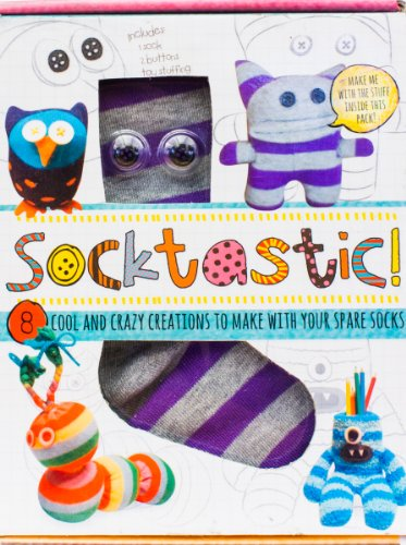9781472324511: Socktastic: 8 Cool and Crazy Creations to Make with your Spare Socks! (Scary Cute)