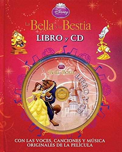 9781472325754: DISNEY LIBRO Y CD: DISNEY LA BELLA Y LA BESTIA