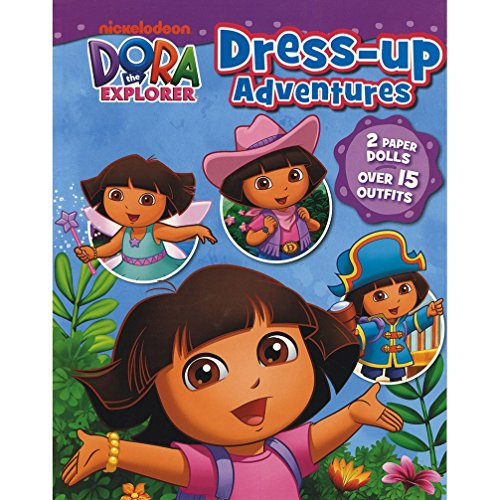 9781472327352: Nickelodeon Dora the Explorer Dress-Up Adventures: 2 Paper Dolls, Over 15 Outfits!