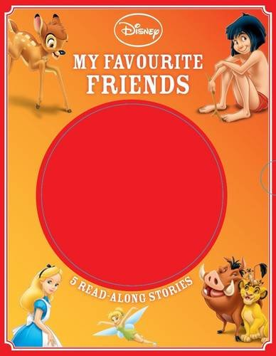 Disney My Favourite Friends: 5 Read-Along Stories: Disney