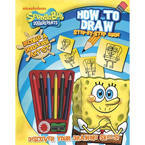 Spongebob Squarepants: How to Draw Step-by-Step: Parragon Publishing India