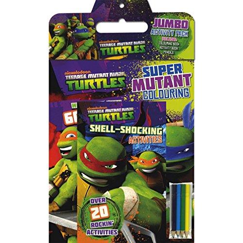 9781472330307: Teenage Mutant Ninja Turtles Jumbo Activity Pack
