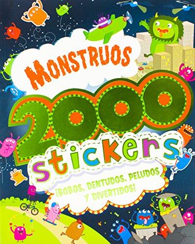 9781472330567: Monstruos 2000 stickers (Spanish Edition)