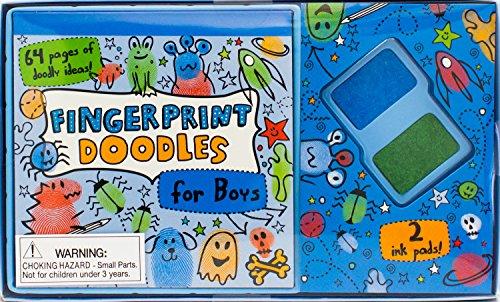 9781472330819: Fingerprint Doodles for Boys (Kids Boxes)