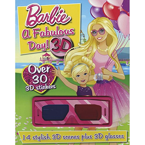 Barbie a Fabulous Day! 3D: Over 30 3D Sticker: Parragon Publishing India