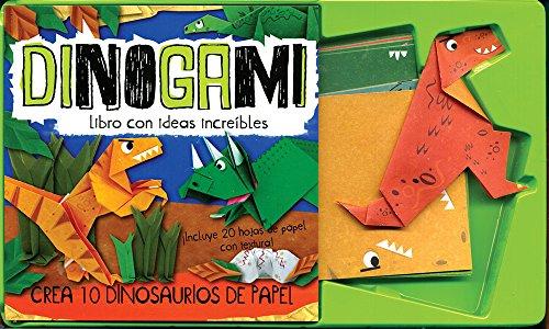 9781472340719: Dinogami (Mini Gift Dinogami) (Spanish Edition)