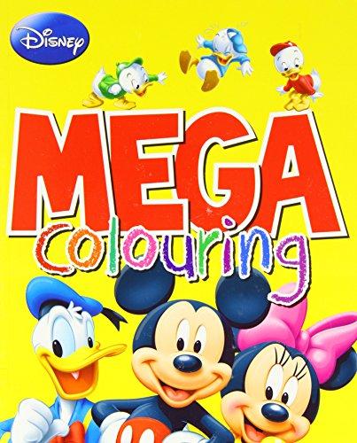 9781472340856: Disney Mega Colouring (Disney Mickey Mouse & Co)