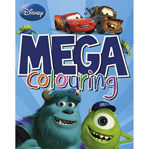 9781472340863: Disney Mega Colouring (Disney Pixar)
