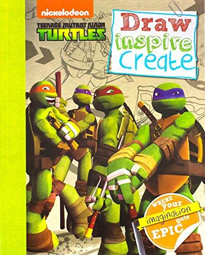 9781472341044: Teenage Mutant Ninja Turtles: Draw Inspire Create (Tmnt)