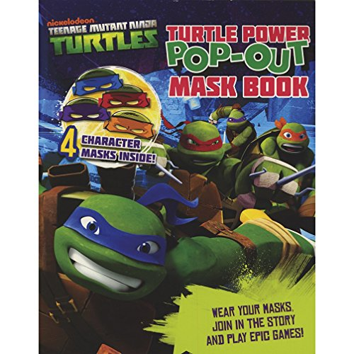 9781472341068: Teenage Mutant Ninja Turtles Turtle Power Pop-Out Mask Book