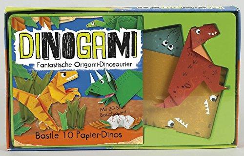 Dinogami: Fantastische Origami-Dinosaurier (Paperback)