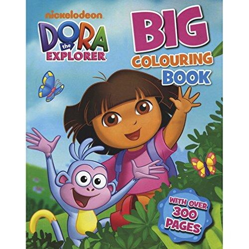 Big Colouring Book (Dora the Explorer): Parragon Publishing India