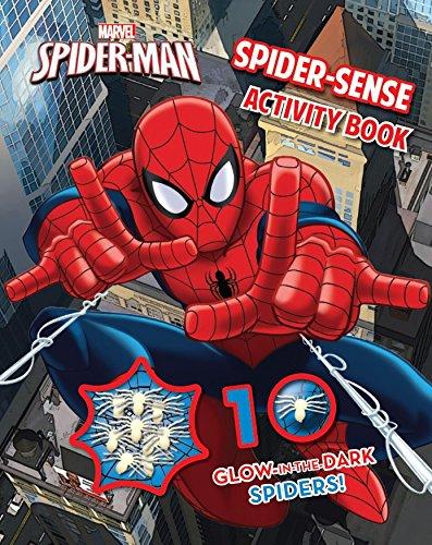 9781472342195: Marvel Spider-Man Spider-Sense Activity Book