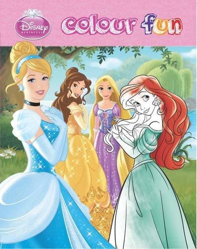 9781472344717: Disney Princess Colour Fun