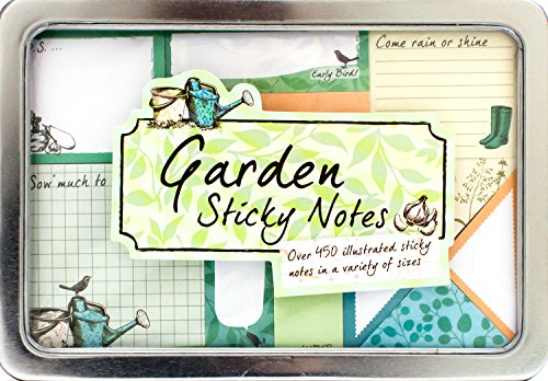 9781472345011: Garden Sticky Notes Tin (Life Canvas)