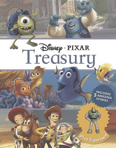 9781472350091: Disney Pixar Treasury: Includes 5 Amazing Stories Plus Figurine!