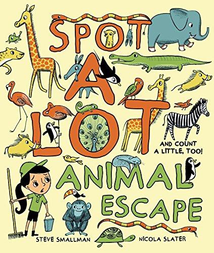 9781472350961: Spot A Lot! Animal Escape