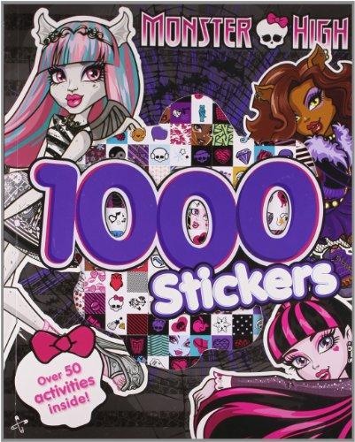 9781472351661: Monster High 1000 Stickers: Over 50 Activities Inside!