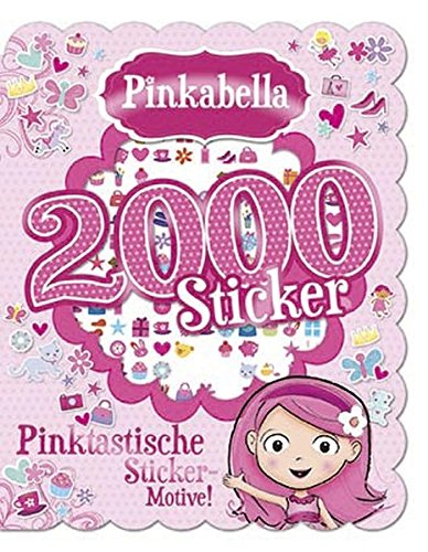 9781472354860: Pinkabella: 2000 Sticker