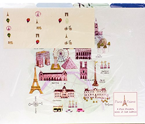 9781472355645: Paris: File Folders (Life Canvas)