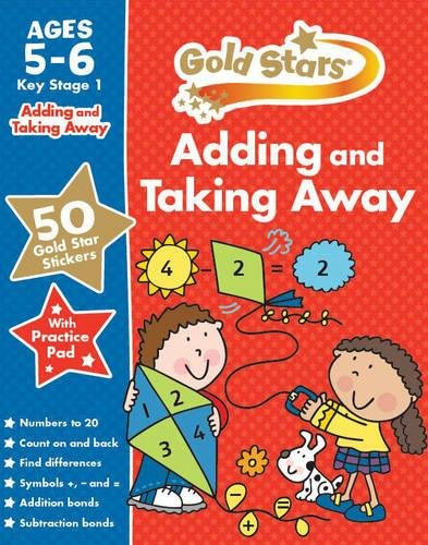 9781472356727: Gold Stars Adding and Taking Away Ages 5-6 Key Stage 1