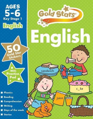 9781472356741: Gold Stars English Ages 5-6 Key Stage 1 (Gold Stars Ks1 Workbooks)