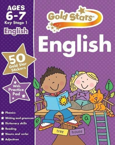 9781472356758: Gold Stars English Ages 6-7 Key Stage 1 (Gold Stars Ks1 Workbooks)