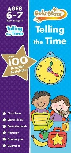 Gold Stars Telling the Time Practice Book (Gold Stars Practice Books): Gold Stars