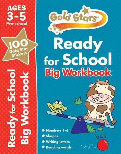 9781472356819: Gold Stars Ready for School Big Workbook (Gold Stars Preschool Bumper)