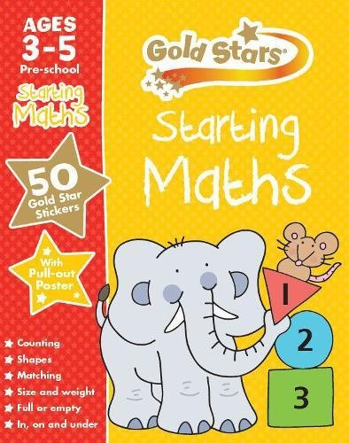 9781472356833: Gold Stars Starting Maths Ages 3-5 Pre-school