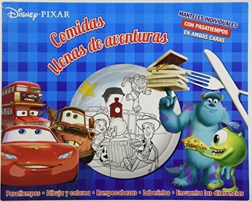 9781472357755: MANTELES INDIVIDUALES: DISNEY PIXAR COMIDAS LLENAS DE AVENTURAS