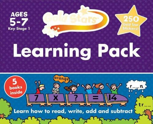 9781472359575: Gold Stars Learning Pack Ages 5-7 Key Stage 1: Learn How to Read, Write, Add and Substract