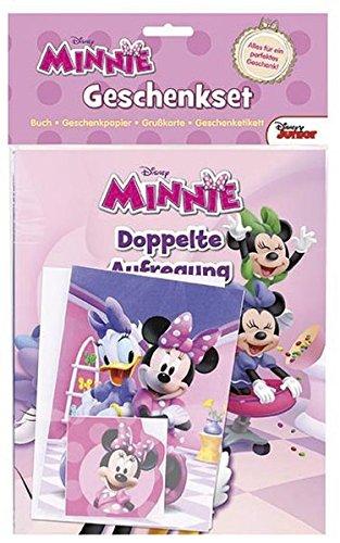 9781472361714: Disney Junior Minnie Geschenkset: Alles für ein perfektes Geschenk, Buch - Geschenkpapier - Grußkarte - Geschenketikett
