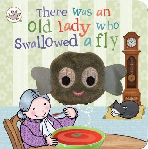 Finger Puppet Book There Was an Old Lady Who Swallowed a Fly: Bill Boo