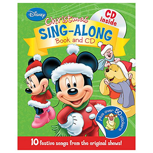 9781472361998 disney christmas sing with over 50 festive stickers