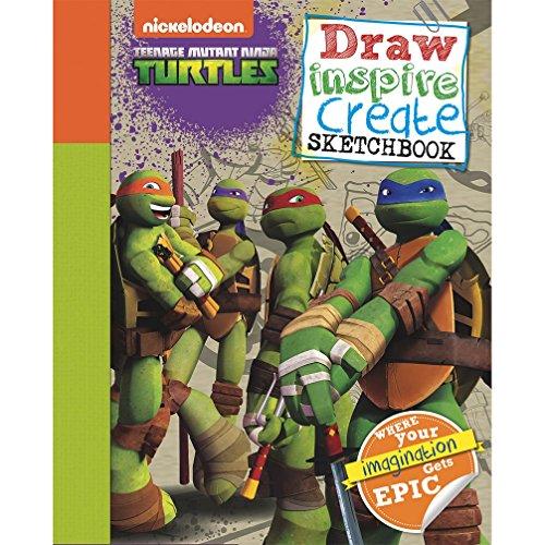 9781472362179: Teenage Mutant Ninja Turtles Draw, Inspire, Create Sketchbook