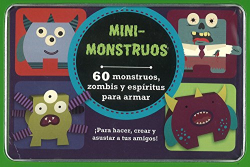 9781472365514: MINI-MONSTRUOS (Spanish Edition)