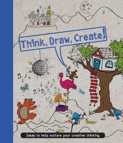 9781472367938: Think, Draw, Create (Drawing Books)