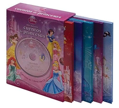 9781472368102: DISNEY COLECCION DE 5 LIBROS CON CD: MIS MEJORES CUENTOS DE PRINCESAS