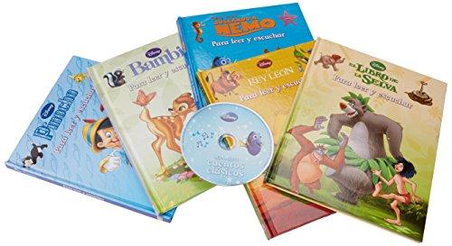 9781472368119: caja - CUENTOS CLASICOS (5 libros + CD