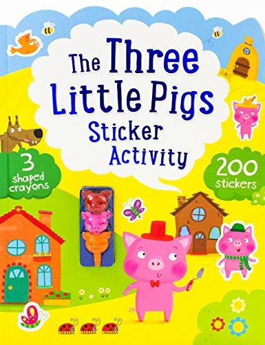 Three Little Pigs Sticker Activity (Fairytale Sticker): Catherine Ard