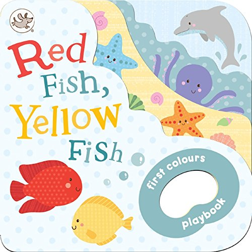 Little Learners Grab Book Red Fish, Yellow: Parragon