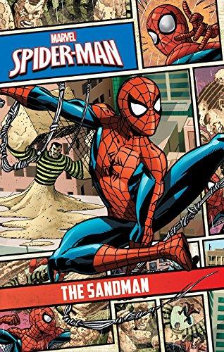 Marvel Spider-Man: Comic Storybook: The Sandman Volume 4