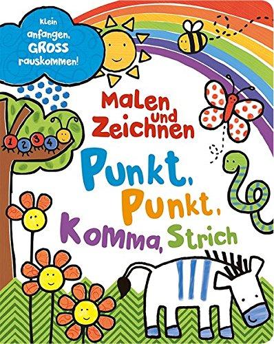 9781472377166: Malen und Zeichnen - Punkte, Streifen und Kringel: Klein anfangen,GROSS rauskommen!